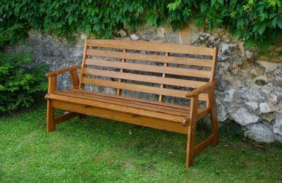 Zahradní lavice RUSTIKA