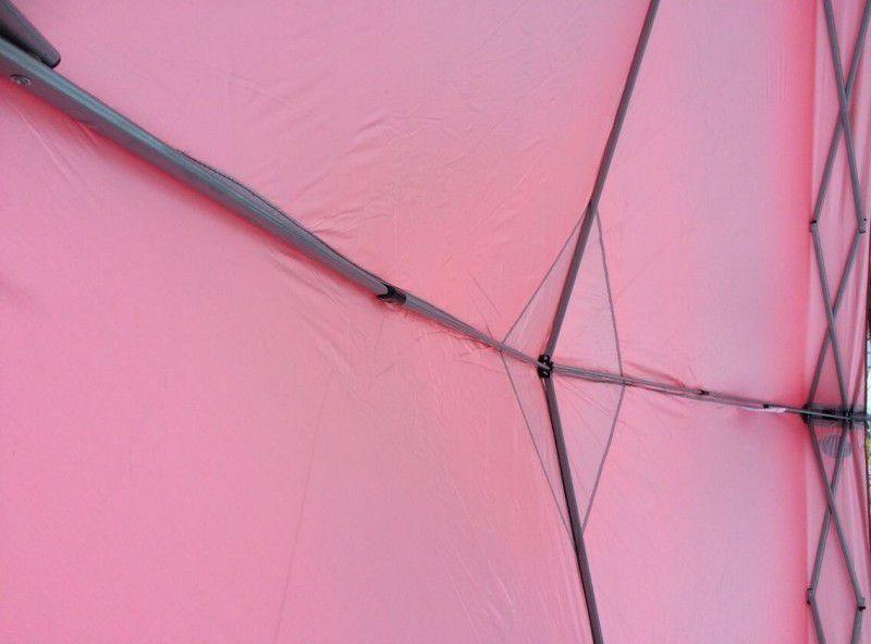 Zahradní párty stan 3 x 3 m červený ZWG 100