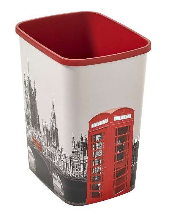 Odpadkový koš Curver Flipbin London 02171 - L11 25 l