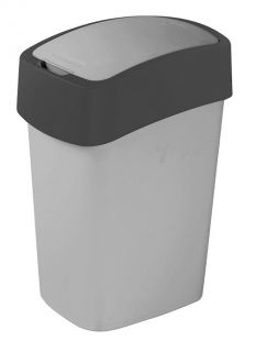CURVER FLIPBIN Odpadkový koš 25l - šedý