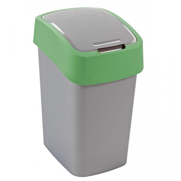Odpadkový koš FLIPBIN 25l – zelená CURVER