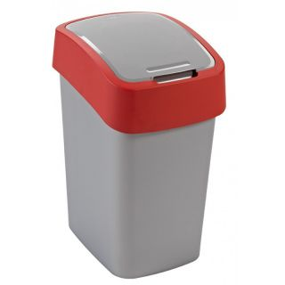 CURVER FLIPBIN Odpadkový koš 25l - červená