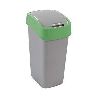 CURVER FLIPBIN Odpadkový koš 50l - zelený