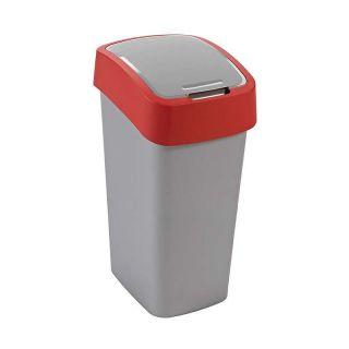 CURVER FLIPBIN Odpadkový koš 50l - červený