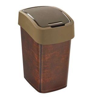 CURVER FLIPBIN LATHR odpadkový koš 25 l