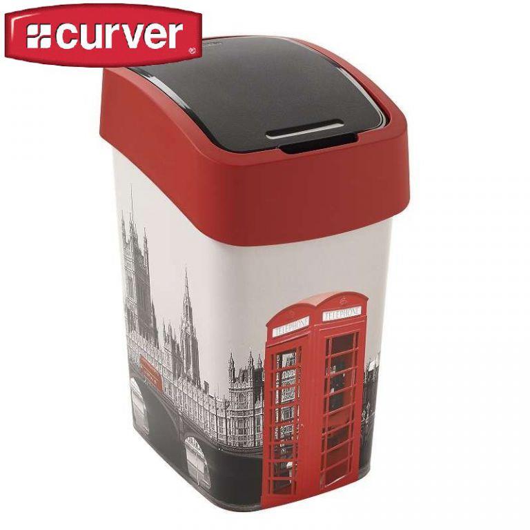 FLIPBIN odpadkový koš 25l - LONDÝN CURVER