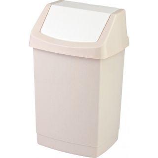 CURVER CLICK Koš odpadkový 15l - savana