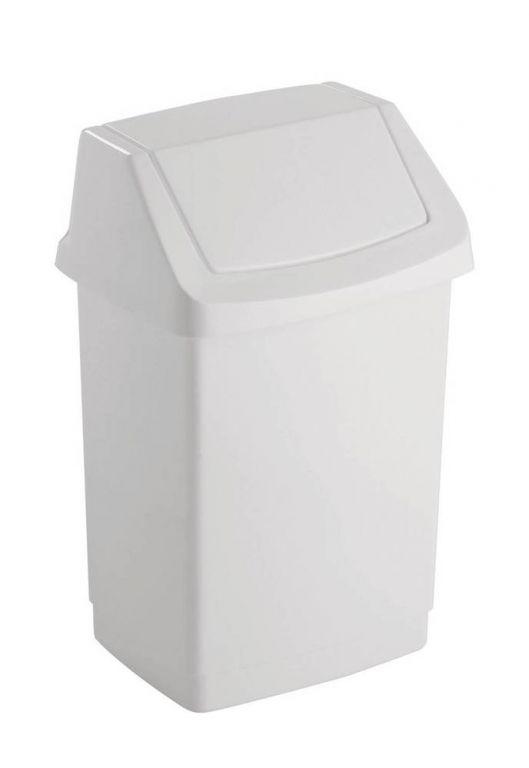 CLICK 50L koš odpadkový - bílý