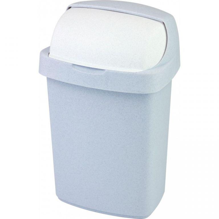Koš odpadkový ROLL TOP 25l - sv. šedý CURVER