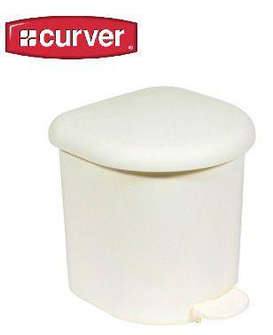 Koš odpadkový pedálový SWING SQR 6L CURVER