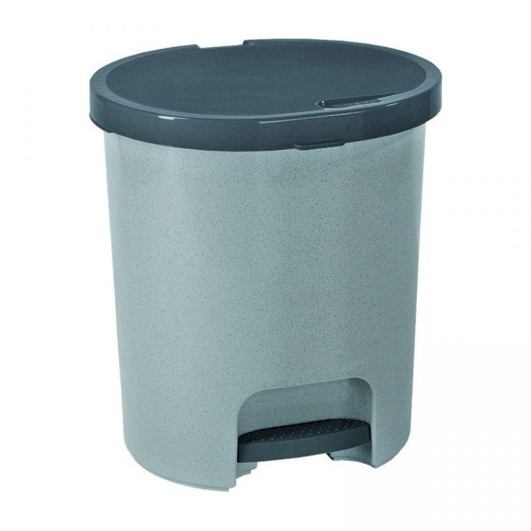 Koš odpadkový pedálový PEDALBIN 25l - šedý CURVER
