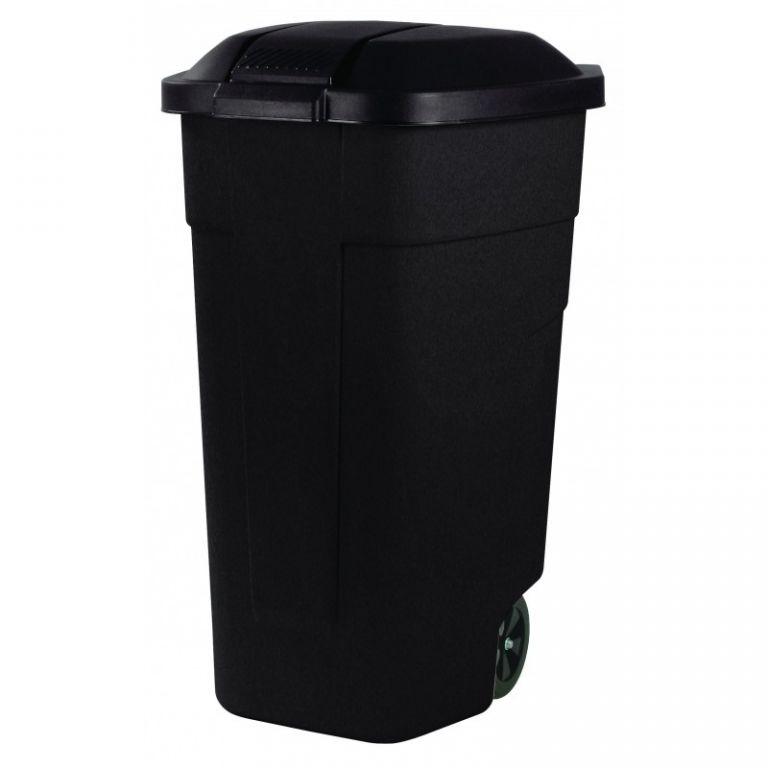 POPELNICE COLOR 110 l - černá CURVER