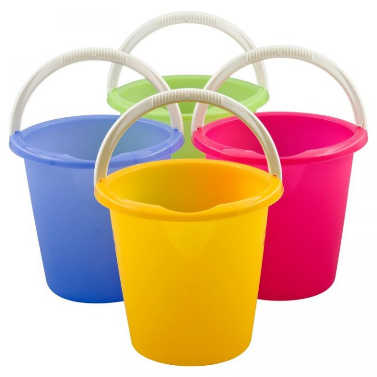 Úklidový kbelík 10L – MIX CURVER