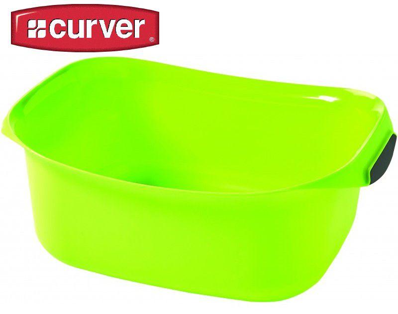 Umyvadlo obdélník RECT 8l - zelená CURVER