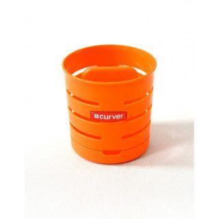 CURVER Odkapávač na příbory KULATÝ - oranžový