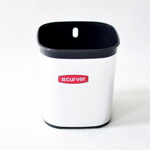 Odkapávač na příbory STYLE - stříbrný CURVER