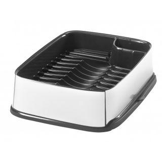 Odkapávač na nádobí STYLE vysunovací - stříbrný CURVER
