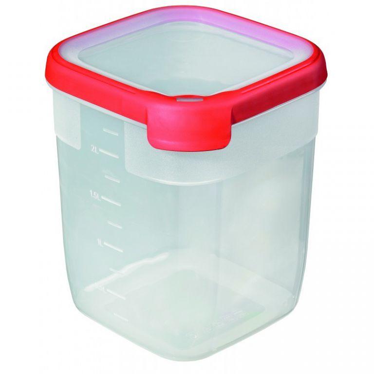 Plastová dóza GRAND CHEF 2,6 l - červená CURVER