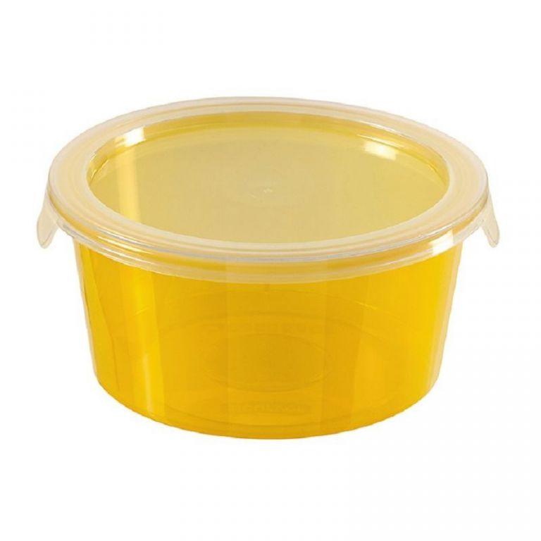 CURVER 32226 Plastová dóza DECO CHEF 1,2 L - oranžová