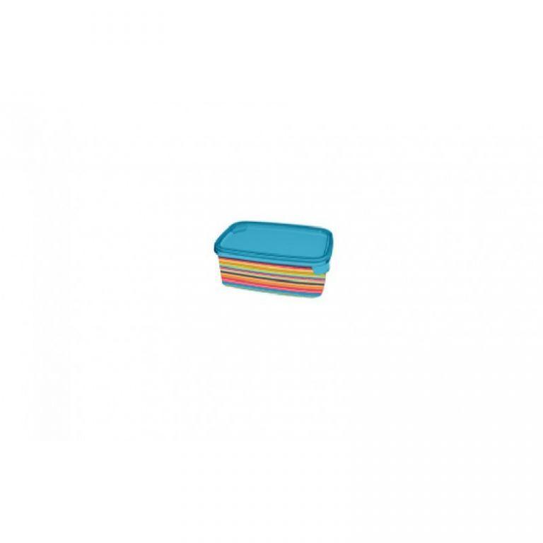 dóza DECO CHEF obdélník 1L - barevné proužky  CURVER