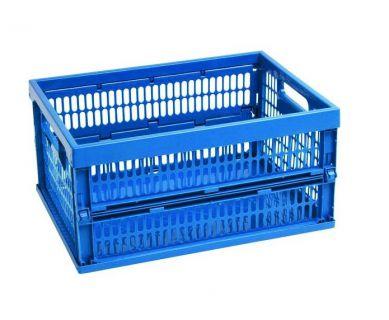 Velká skládací přepravka 50 L - modrá CURVER