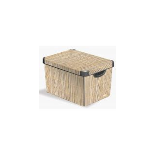 Box DECO - L - Bamboo CURVER