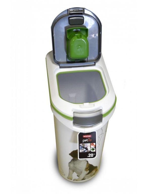Kontejner na krmivo 20 kg - PSI CURVER