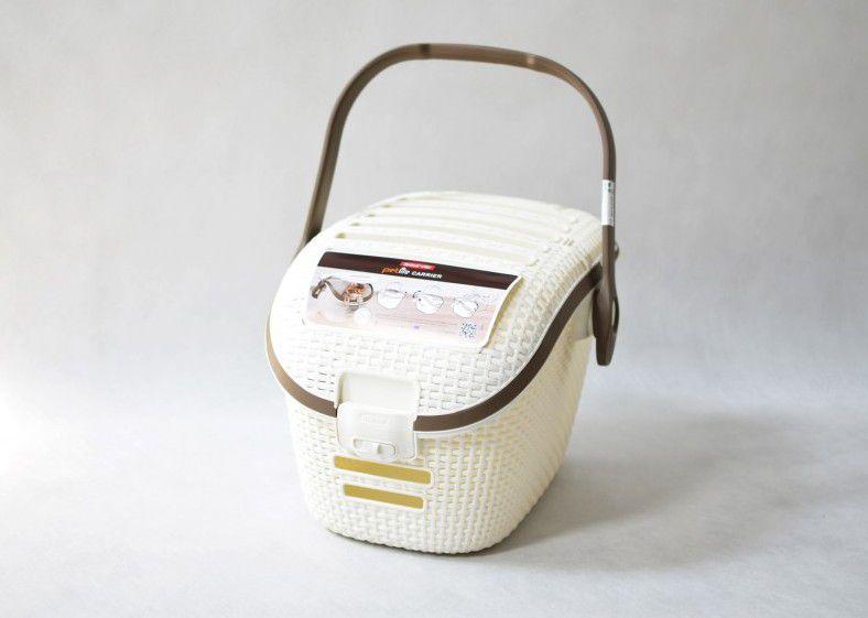 Přepravní box na zvířata RATTAN - Vintage CURVER
