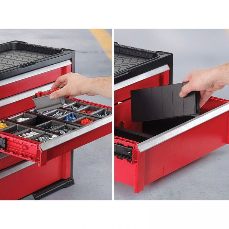 Úložný box na nářadí KETER - 3 zásuvky