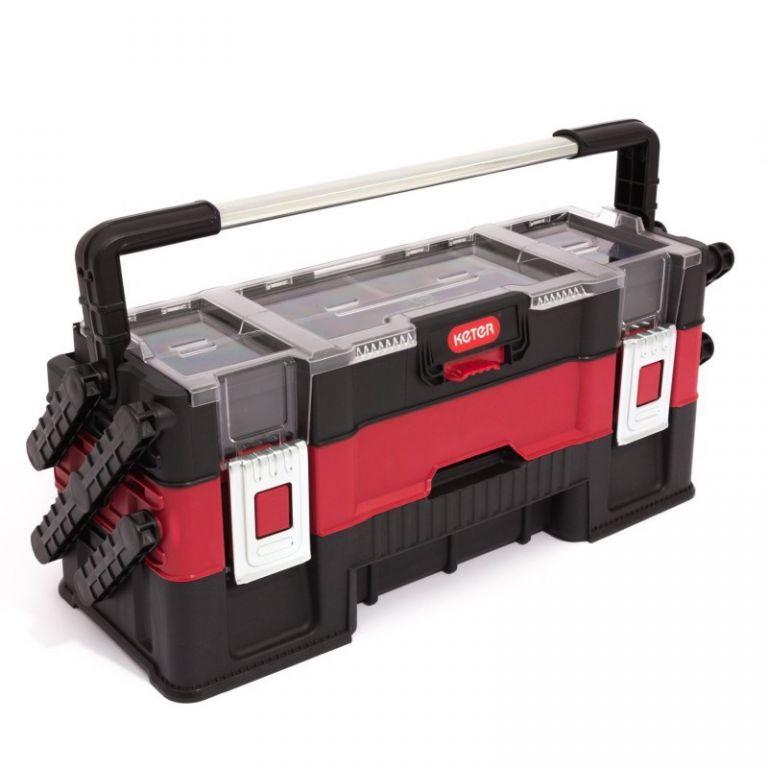 Kufřík na nářadí KETER TRIO - 3-dílný CURVER