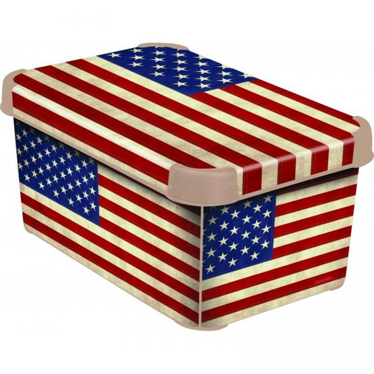 Úložný box – S – USA CURVER