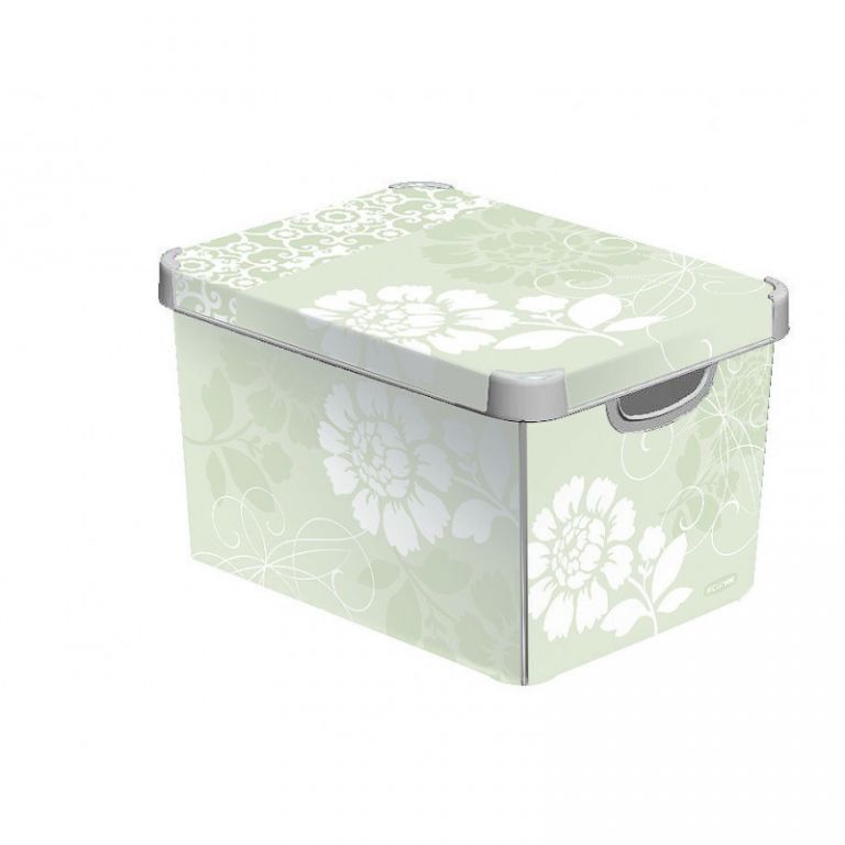 Plastový úložný box DECO - S - ROMANCE CURVER