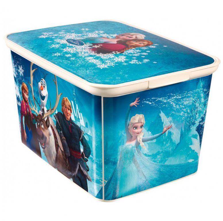 CURVER Dětský úložný box Ledové království L OEM R33036