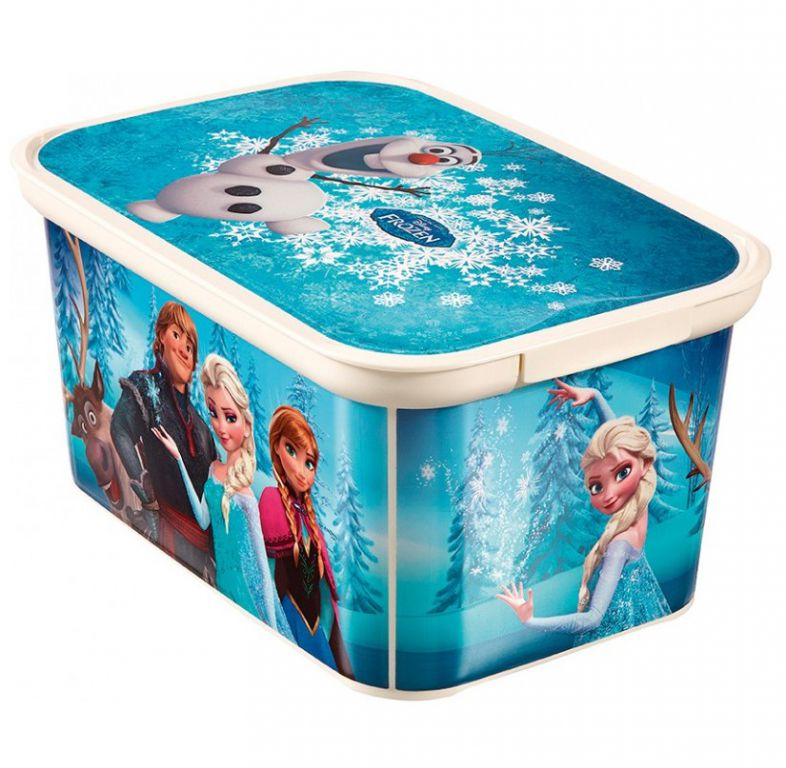 Dětský úložný box Ledové království - S CURVER
