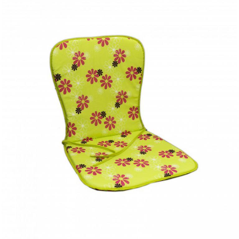 Sedák SAMOA – zelený s květy 30330-220