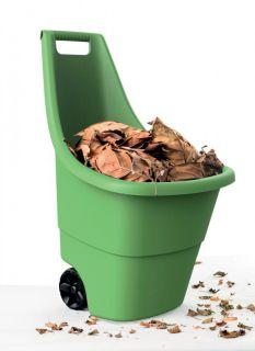 Plastový vozík EASY GO 50l - zelený