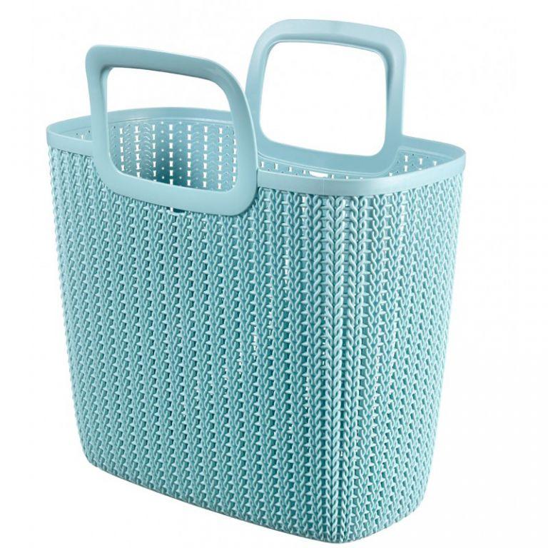 Nákupní taška KNIT - modrá CURVER
