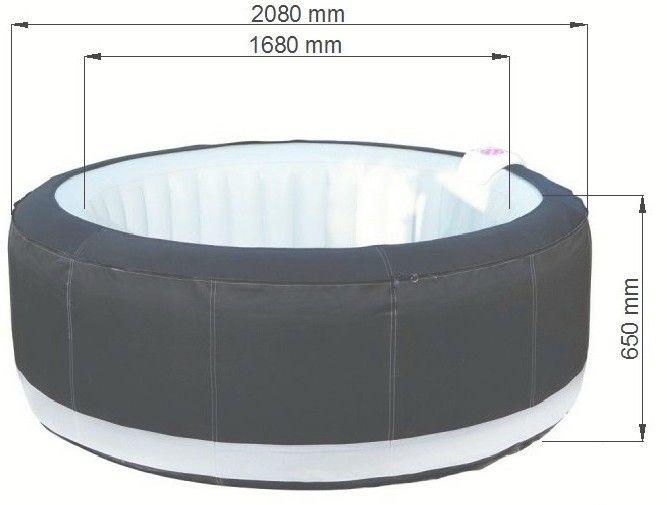 Mobilní vířivka Belatrix SPA LUXURY 150 - 2,08 m