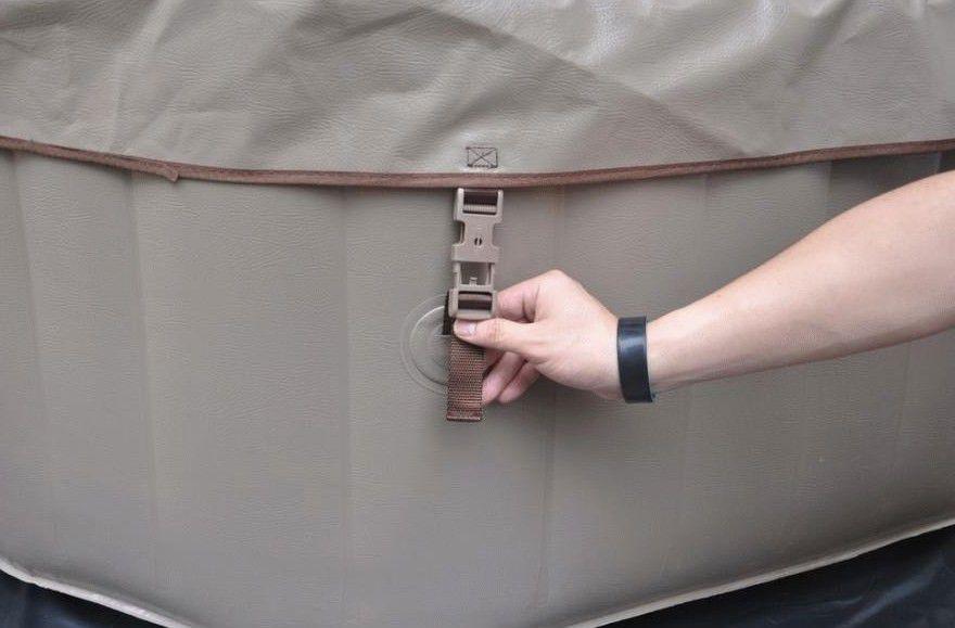 Vířivka mobilní Belatrix Luxury 155 - 1,85 cm
