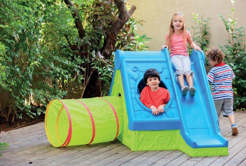 Dětský hrací dům FUNTIVITY PLAY HOUSE - Zelený