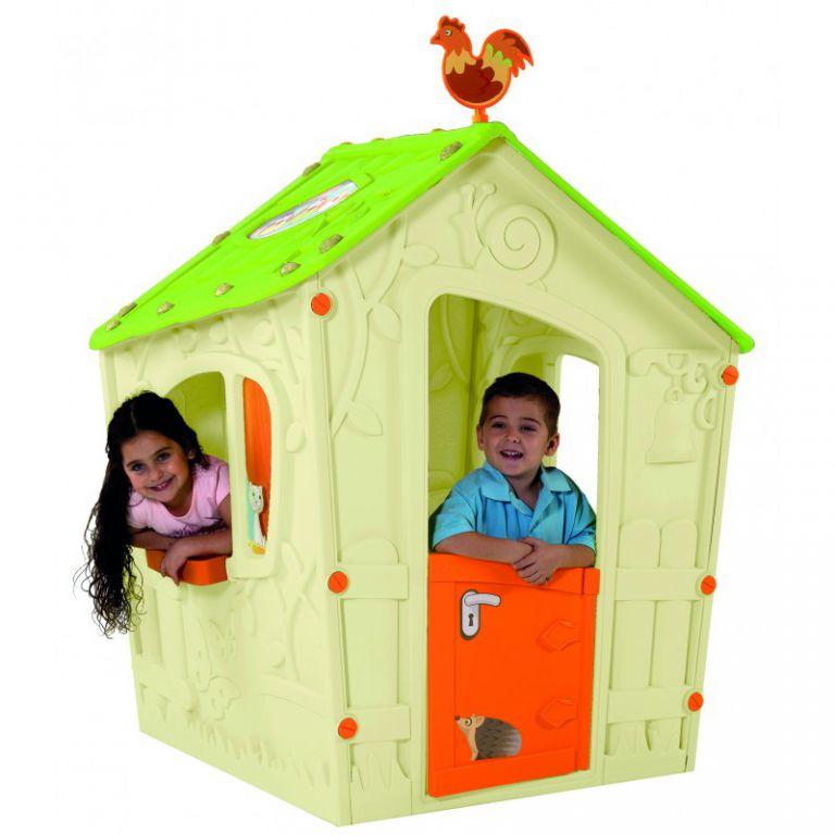 Dětský hrací domeček MAGIC PLAY HOUSE – béžový