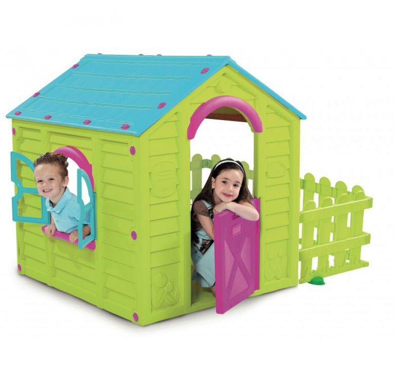 Rojaplast MY GARDEN HOUSE zelená + modrá 11640124