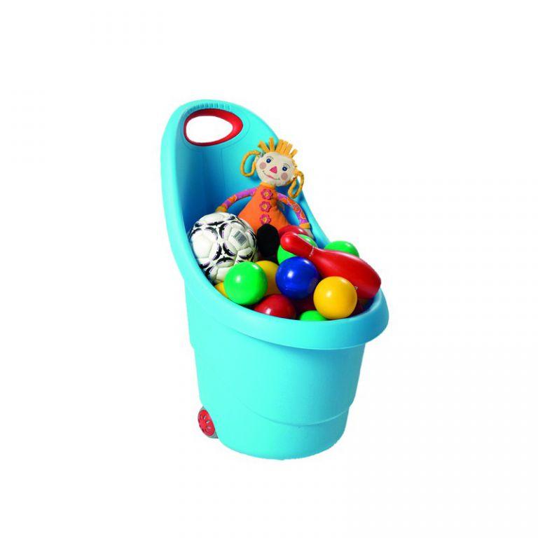 KIDDIES GO vozíček – modrý