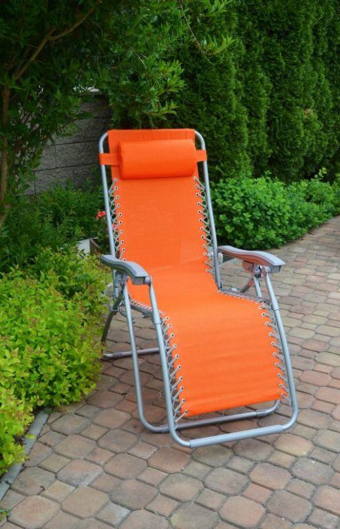 Zahradní křeslo AN2320 oranžové
