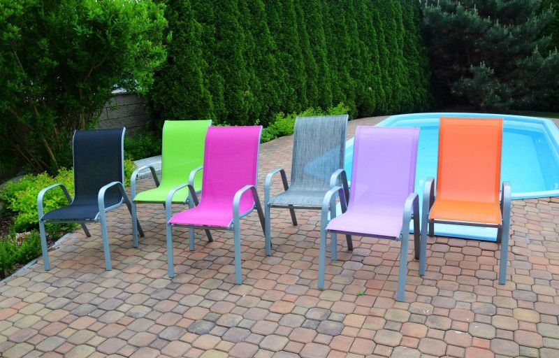 Zahradní křeslo 2429 fialové