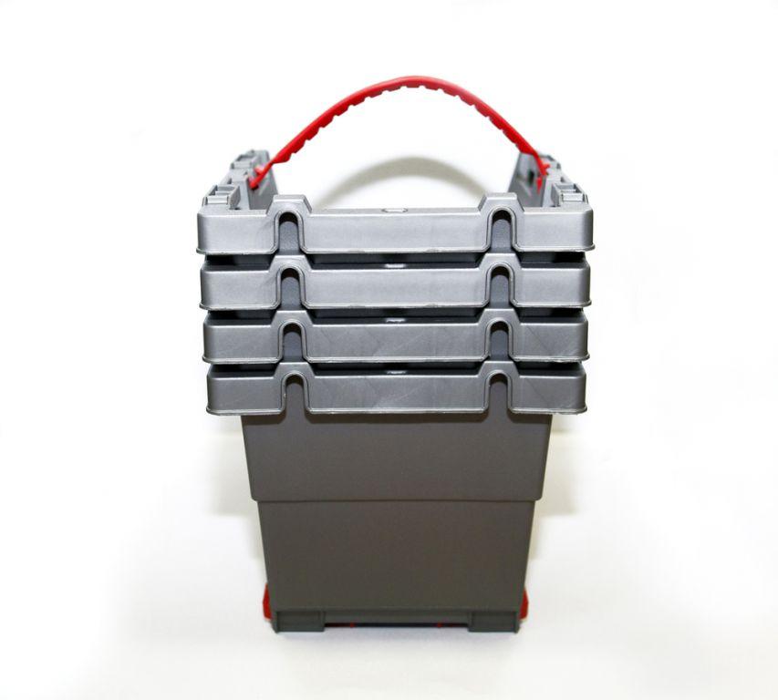 Sada úložných boxů KETER CLICK BINS set - M - 4 organizéry KETER