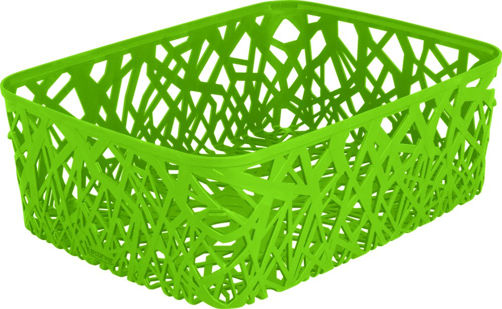 Košík na drobnosti – A4 – zelený CURVER