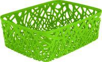 CURVER Košík na drobnosti - A4 - zelený