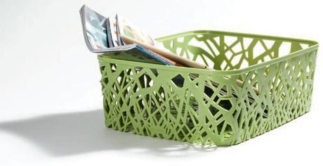 Košík na drobnosti - A4 - zelený CURVER