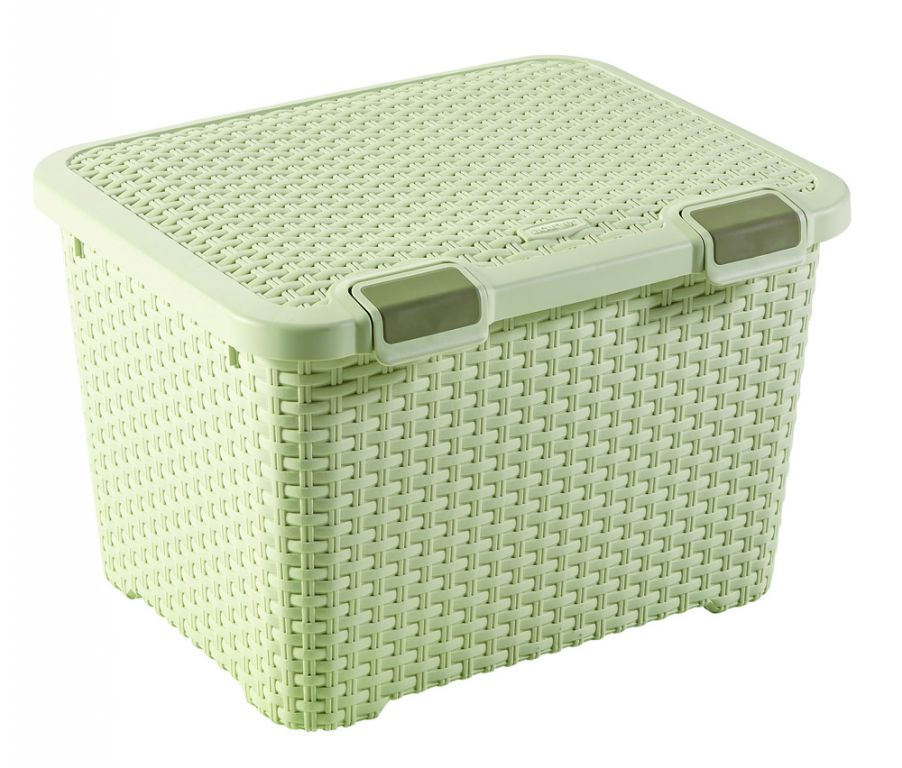 Úložný větší plastový box - 43L - krémový CURVER